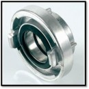 "75 mm solid coupling 2 1/2"" - female"